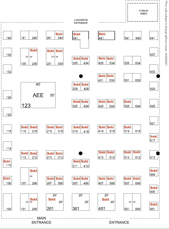 AEE World Floor Plan